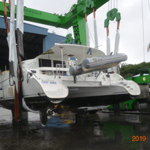 "Vessel – M/V ""First Wave"" a 2012 39′ Fountain Pajot Lipari – 73900.010 – Closing: 24 January 2020"